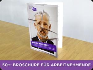 Broschüre für Arbeitnehmende Corporate Health Kampagne