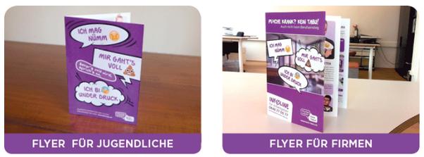 Flyer Corporate Health Kampagne